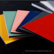 brushed color ACP ACM Aluminum Composite Panel