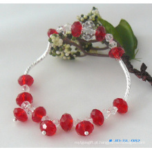 Bracelete de cristal de jóias de cristal de vendas quentes