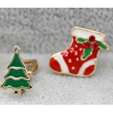 Weihnachtsschmuck / Weihnachtsohrring / Weihnachtsbaum (XER13365)