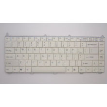 Original Laptop Keyboard Replacement White Color For Sony