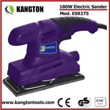 Lijadora eléctrica del acabado de la lijadora de la mano 180W
