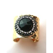 Moda de cobre natural gemstone pedra preciosa anel de dedo anéis jóias