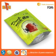 FDA approuvé impression personnalisée laminée réutilisable stand up ziplock bag