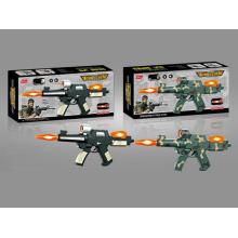 Пластиковые Батарейках Инфракрасный Звуковой Пистолет (10216731)