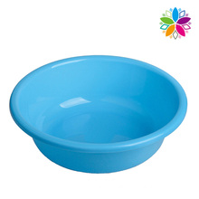 Fashion Pure Color Plastic Round Washing Basin (SLP027)