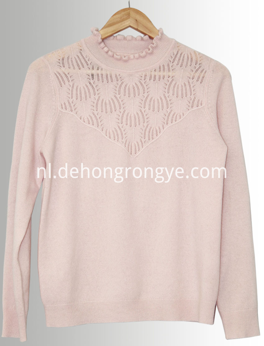 Pink Cashmere Sweater