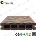 Wood plastic composite playground decking
