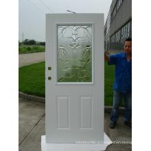 Стальная стеклянная дверь используется в качестве магазина перед Doorp разных