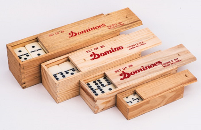 double 6 domino set