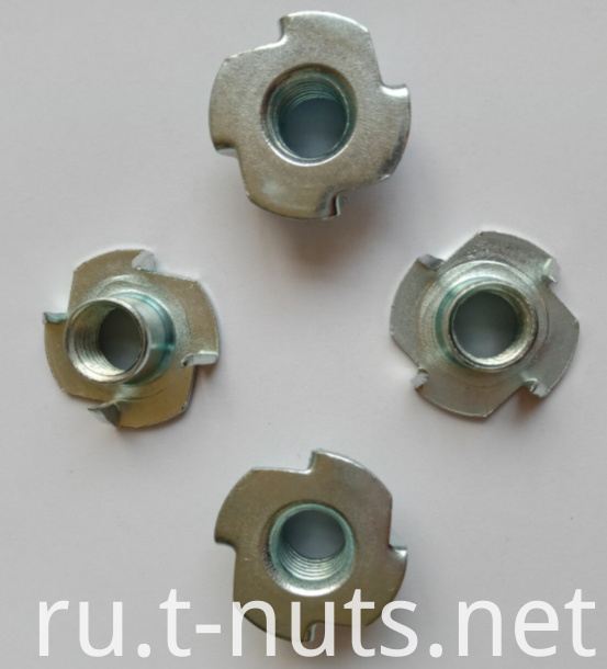 M8 Stainless steel 4 Prongs Locking Nuts