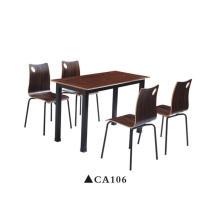 Conjuntos de mesa de comedor modernos de muebles de comedor