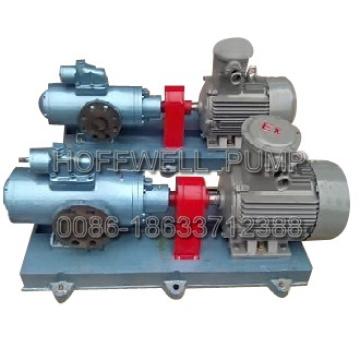 Pompe à huile lourde horizontale à vis homologuée CE