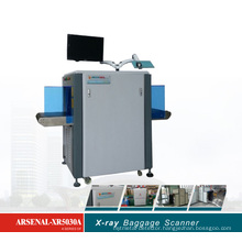 50*30cm X-ray Baggage Scanner for Small Parcels