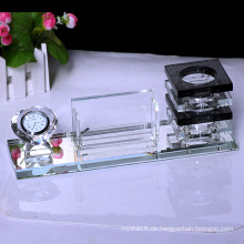 Schöner optischer Glaskristall Diamond Pen Holder