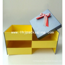 High Quality Three Layers Cardboard Wedding Drawer Candy Paper Box