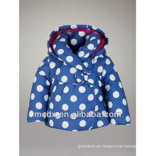 chaqueta cómoda de la chaqueta de los niños de la chaqueta de los niños abajo