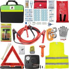 Kit de ferramentas de segurança para carros na estrada