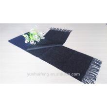 Mongolian reversible wool scarf