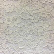 Damen Polyester mit Spitzenkleid und kurzen Ärmeln