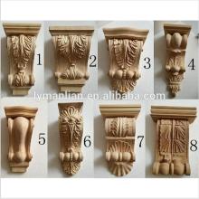 wood carved frame corbels