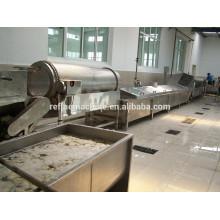 Ciruela de pulverización de álcali y peeling máquina máquina de pelado de frutas de Colead