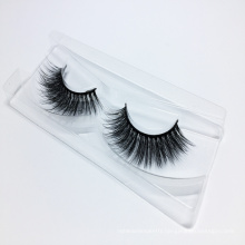 2018 Wholesale Glamorous 3D Silk False Strip Eyelashes with Custom Packaging