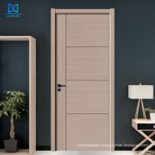 GO-A001 Offices wood doors bedroom door design modern mdf interior door