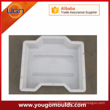 Plastic road edge paving stone concrete