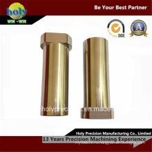 Изготовленный на заказ CNC латунные подвергая CNC механической обработке поворачивая части