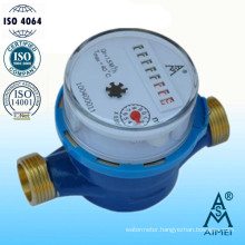 Single Jet Dry Type Brass Body Water Meter
