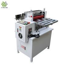 Automatic sticker roll to sheet cutting machine