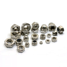 Écrou en hexagone en acier inoxydable / écrou carré / 2h écrou / écrou de soudure / écrou à bride / écrou de verrouillage en nylon