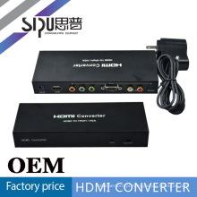 SIPU multi mídia hdmi pbpr + vga caixa do conversor para o projetor