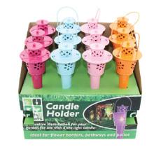 Garten Kerzenständer Metall Laterne Dekoration
