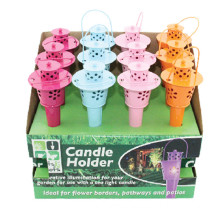 Garden Candle Holder Metal Lantern Decoration