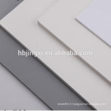Feuille de PVC blanche 12 X 24