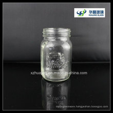 100ml 4oz Embossed Jam Mason Glass Jar