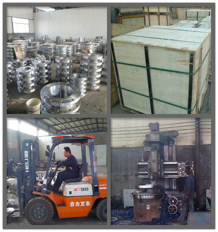 JIS pipe threaded flanges