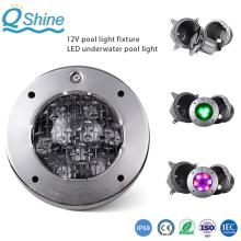 Lampe de piscine sous-marine à LED en acier inoxydable 316/304