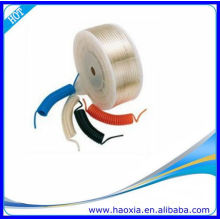 Nylon tubo neumático de la PU azul