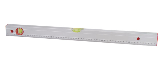 Ribbed Spirit Level with Distinct Scale