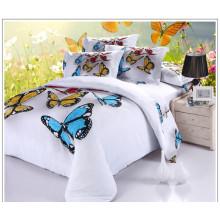 Набор постельных принадлежностей для домашней постели 3D хлопка саржа