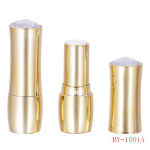 Graceful Mellow Diamond Gold Lipstick Tube