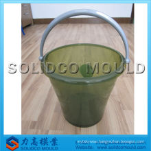 injection bucket with handle mould