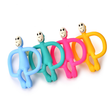 Food Grade Silicone Monkey Teething Toys