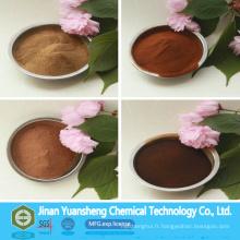 Poudre de Lignosulfonate de calcium de produits chimiques de contrôle de la poussière