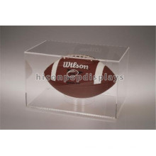 Zuverlässige China Manufacturing Portable Clear Acryl Model Single Fußball Display Fall Großhandel
