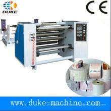 Высокоточная термоформовочная машина для продольной резки бумаги, перемотка бумагорезательной машины для факсимильной бумаги, перемотка щелевой бумаги без каретки (DK-FQJ)