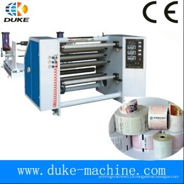 High Precision Thermal Paper Slitting Rewinder Machine, Fax Paper Slitter Rewinder, Carbonless Paper Slit Rewinding (DK-FQJ)