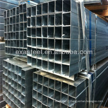 galvanized square&rectangular steel pipes/galvanized square pipe /tube with high quality
